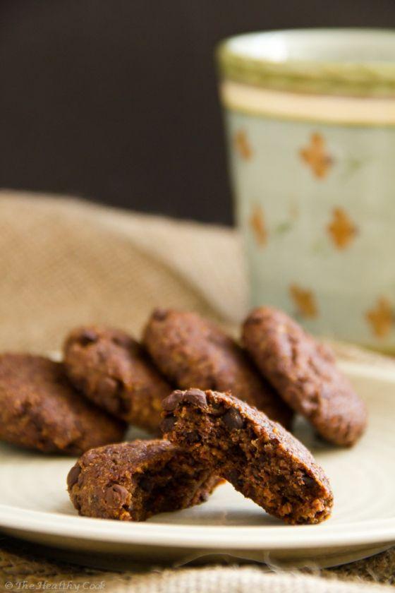 Healthy Chocolate Chip Cookies – Υγιεινά Σoκολατένια Μπισκότα