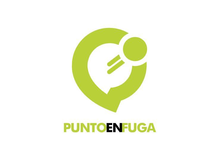 Cliente : Johan Márquez / Dennis Castillo. Empresa : Punto en Fuga (emprendimiento propio) Rubro : Agencia de publicidad. Trabajo : Creación de logotipo y múltiples trabajos. Software : Illustrator.