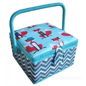 Crafty Fox Sewing Basket