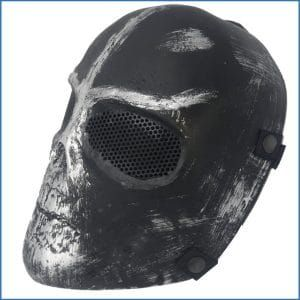 Easy Provider Skull Airsoft Paintball Hunting Full Face Protect Mask