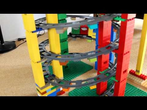 Lego Duplo Trein toren (Train tower) - YouTube
