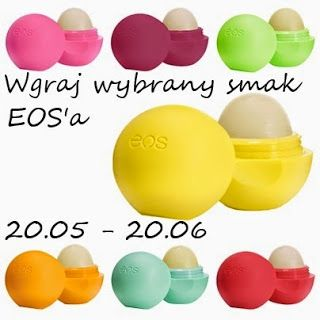 Keep calm and paint Your nails: Rozdanie - Wygraj wybrany smak EOS'a!
