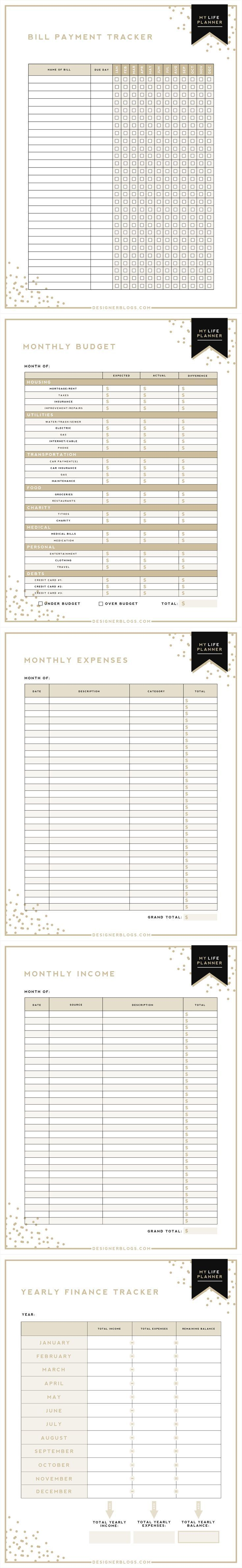 free printable monthly expense sheet full size of spreadsheet budget