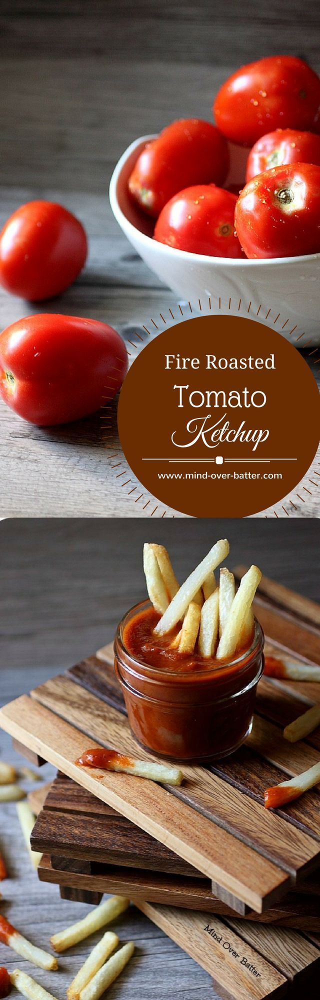 Fire Roasted Tomato Ketchup -- http://www.mind-over-batter.com