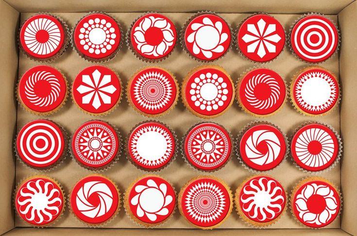 Martenitsa Cupcakes  http://en.wikipedia.org/wiki/Martenitsa