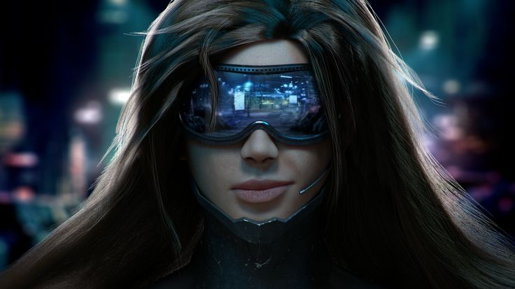 Cyberpunk Woman Digital Art Hd Wallpaper X