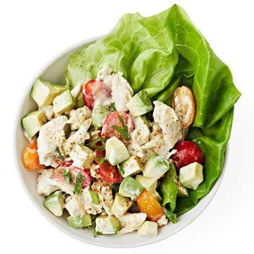 Crab, Avocado and Tomato Salad