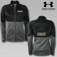 Under Armour Army Womens Fleece Jacket   Army Women's Apparel   Armed Forces Gear   I want this!