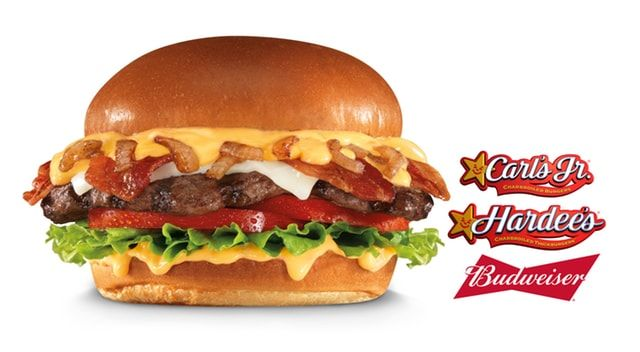 FAST FOOD NEWS: Carl's Jr. and Hardee's Budweiser Beer Cheese Bacon Burger