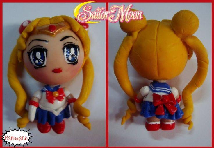 Sailor Moon chibi figure