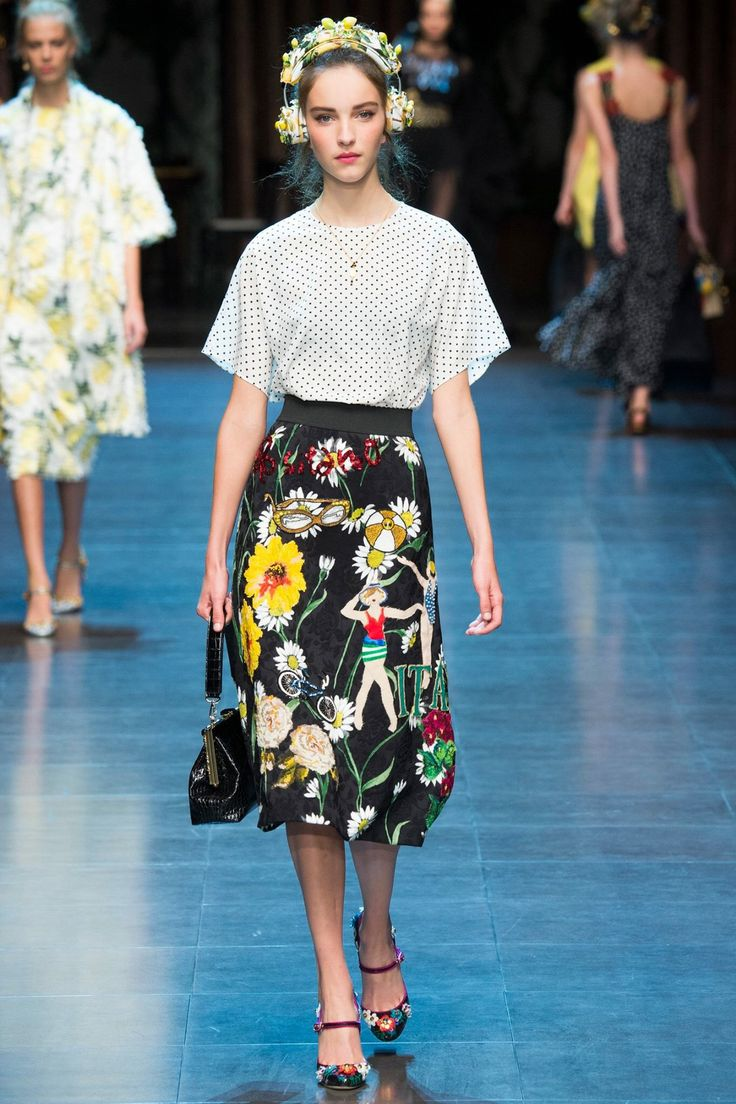 Dolce & Gabbana Spring Summer 2016 Collection