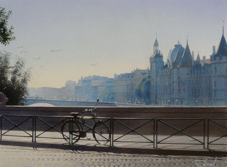 La bicyclette sur le Pont-Neuf