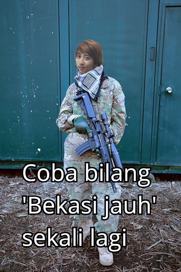 Bekasi has been bullied on social media. Their greatest warrior made a statement.