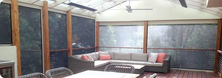 Outdoor Ziptrak Alfresco Blinds Melbourne, Clear PVC, Doreen, Mernda | Just Outdoor Blinds