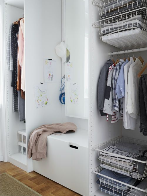 rethink your space and furnish around your needs a walk in closet for the