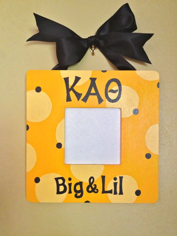 Kappa Alpha Theta picture frame by MadisonStudio on Etsy, $17.95  LOVE THIS! OMG I WANT ONE