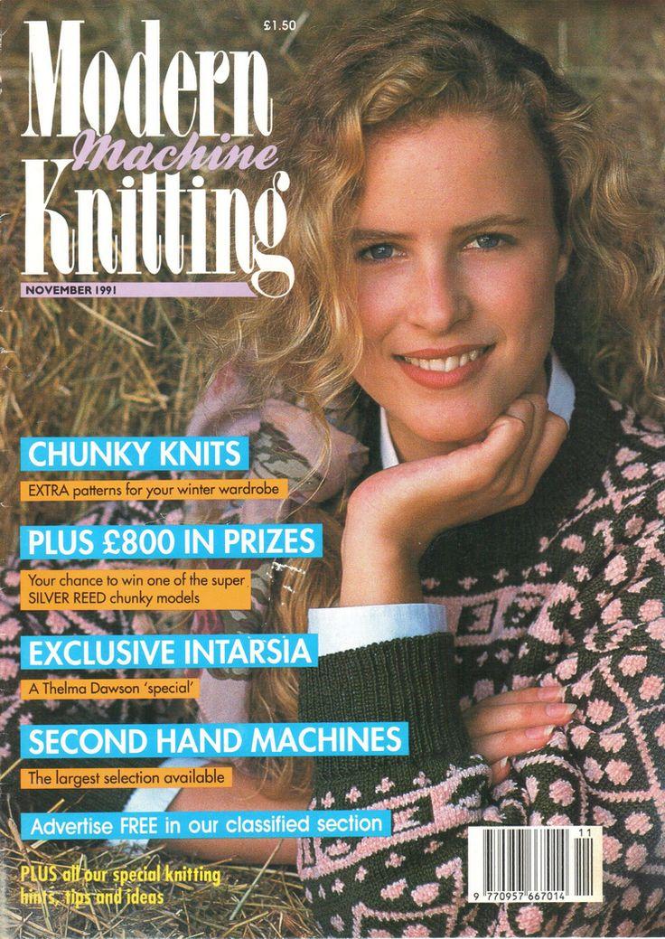 Modern Machine Knitting Magazine 1991.11 Free PDF Download 300dpi ClearScan OCR