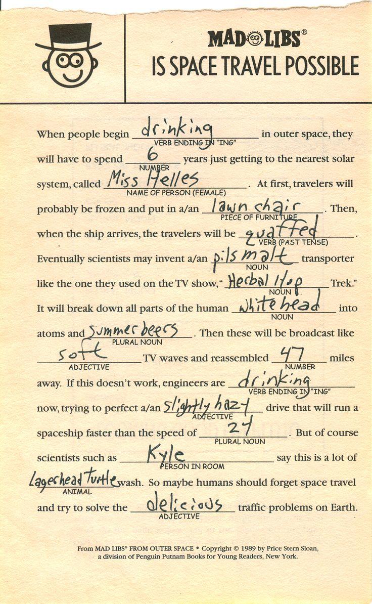 17 Best Ideas About Mad Libs On Pinterest Wedding Mad