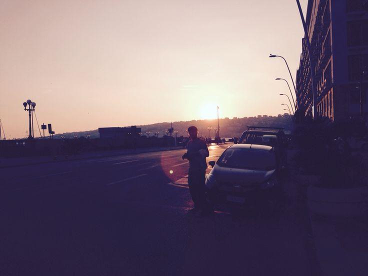 Sunset - Napoli 2014