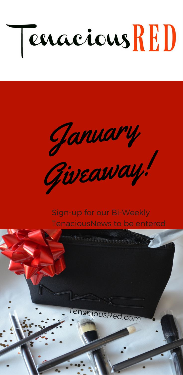 Theres still time to enter our January Giveaway and win a set of MAC makeup brushes valued at $170.