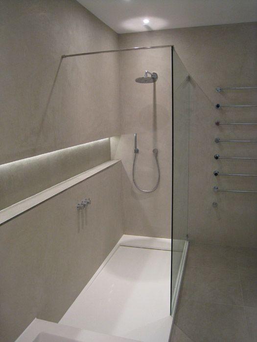 93 best b ton cir bathrooms images on pinterest for Tadelakt bathroom ideas