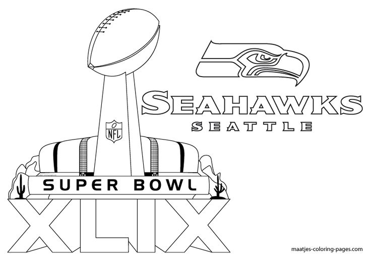 maatjes coloring pages - more seattle seahawks super bowl xlix coloring pages on