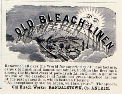 N e e d l e p r i n t: Old Bleach Linens * Ireland