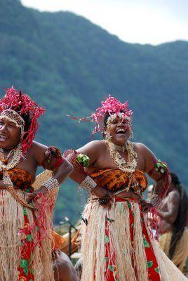 Solomon Islands - Happy Women