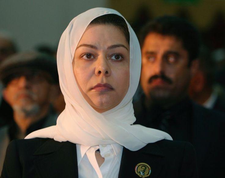 Als trauernde Tochter zeigte sich Raghad Hussein 2007 in Jemen. Dort wurde am 40. Tag nach Saddam Husseins Erhängung eine Trauerfeier veranstaltet.