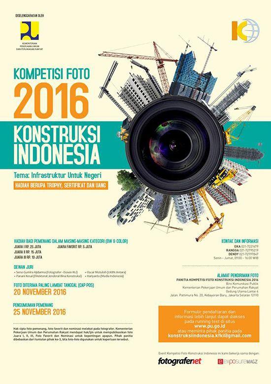 Kompetisi Foto Konstruksi Indonesia ~ Teknologi Konstruksi Arsitektur