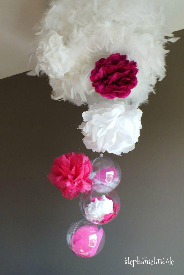 Fleur En Papier Crepon Facile A Faire pour les 25 meilleures idées de la catégorie banderoles en papier