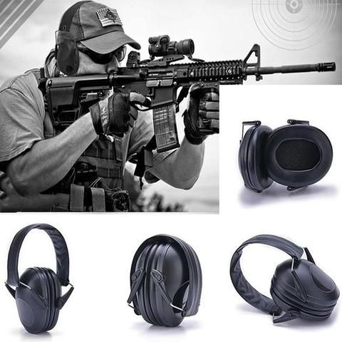 Portable Gun Shoot Noise-Canceling Ear Muff, Ear Protector.