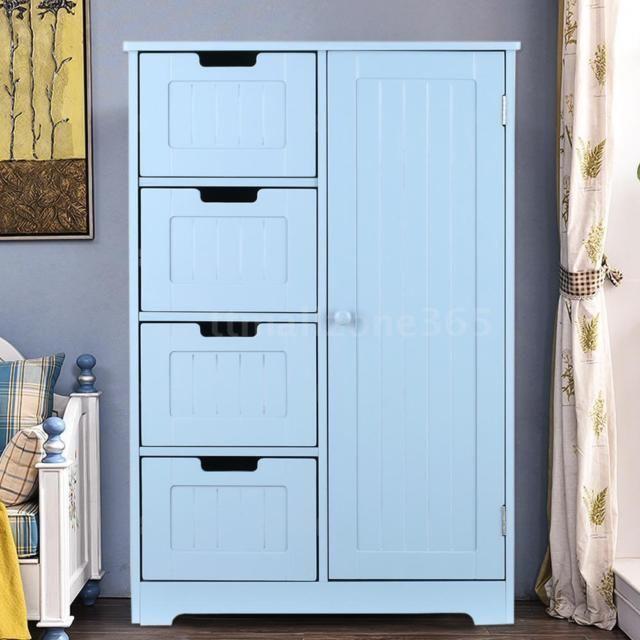 Pantry Storage Cabinet Wooden Laundry Closet Office Organizer Cupboard I4Q3   eBay
