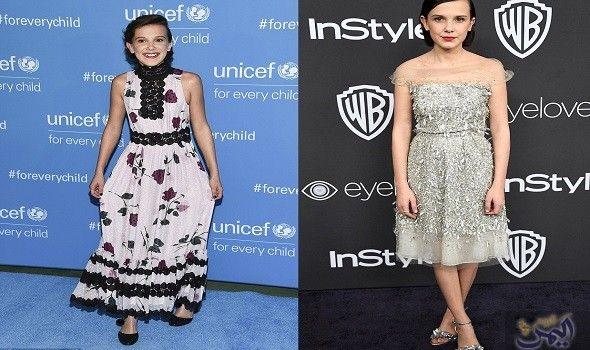 ميلي براون تبدع خلال أول مشاركة في عرض أزياء Unicef Instyle Children