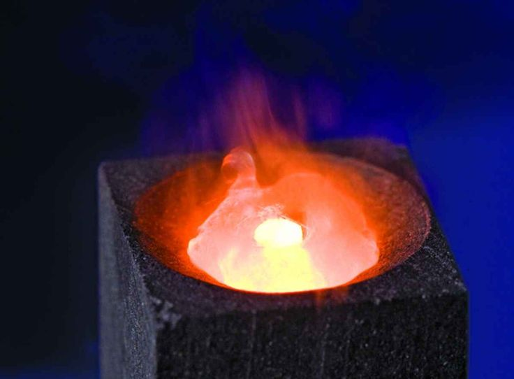 Gone In a Flash: Burning Diamonds With a Torch and Liquid Oxygen
