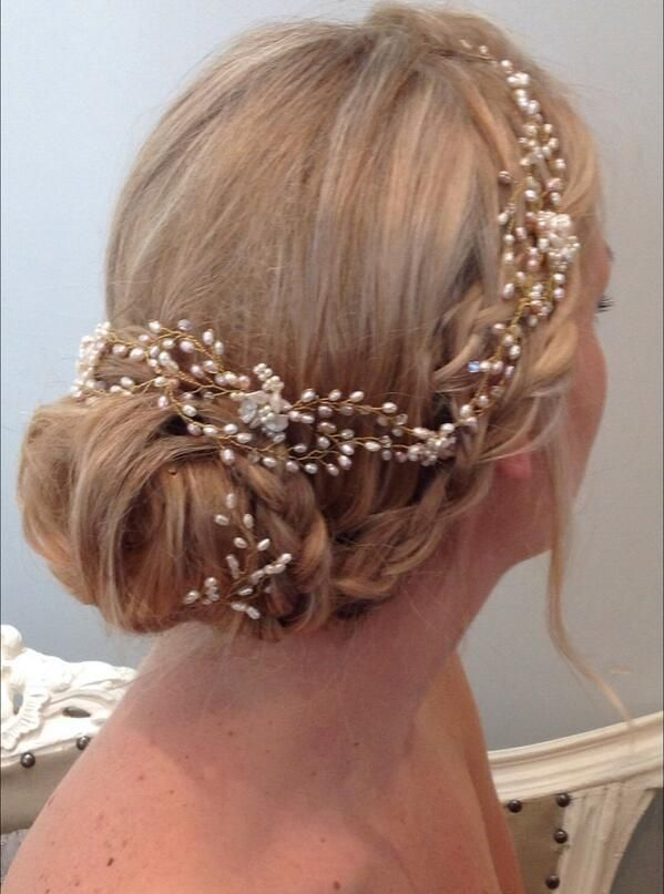 how to style hair for prom 25 best ideas about bridal hairpiece on 6506