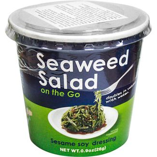 2,95€ KURAKON ensalada de wakame con vinagre de arroz soja y sésamo envase 30 g