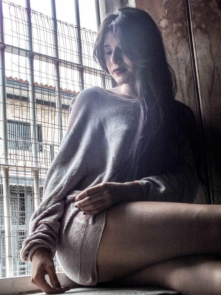 #Girl #Window
