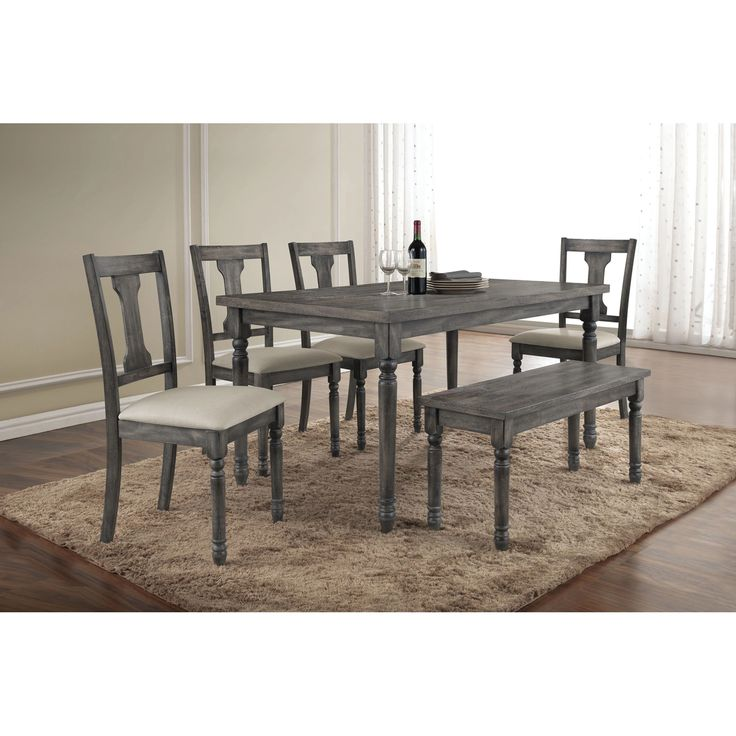 17 Best Ideas About Gray Dining Tables On Pinterest