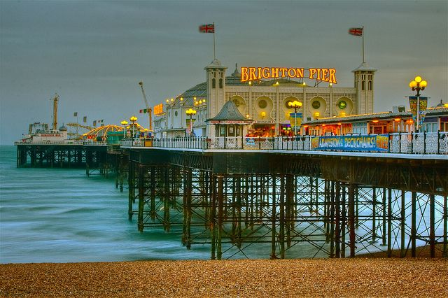 Brighton Pier ~ Brighton, England