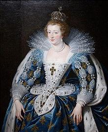 Anne d'Autriche en costume de sacre (1601-1666) - Wikipédia