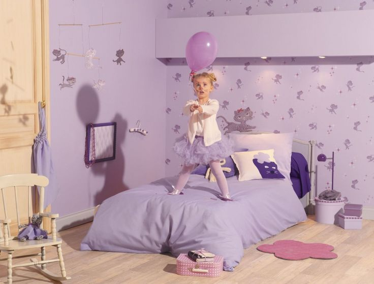 Pokój małej dziewczynki: 20 pomysłów na bajkowe tapety  - zdjęcie numer 9