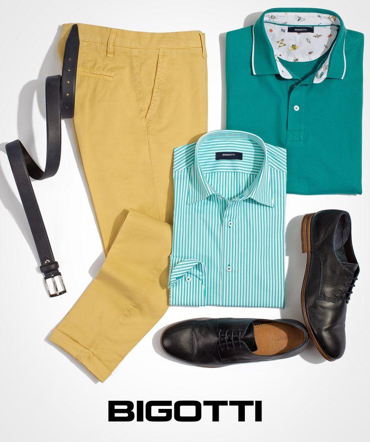 #Shades of #aqua - the #stunning #new #colours for the #men #summer #outfits  www.bigotti.ro #mensfashion #followus #ootdmen #moda #Bigottiromania #tricouri #polo #camasi #dungi #pantaloni #chino #fashiontag #tinute #summerfashion #summervibe #mensclothing #menswear #mensstyle #trendy #fresh #clean #look