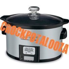 """""""Crockpotalooza"""" - about 260 recipes perfect for hot weather when it's too hot to turn on the oven"""