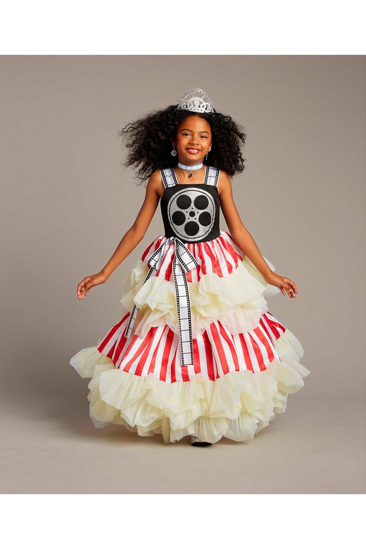 Hollywood Princess Costume For Girls | Chasing Fireflies