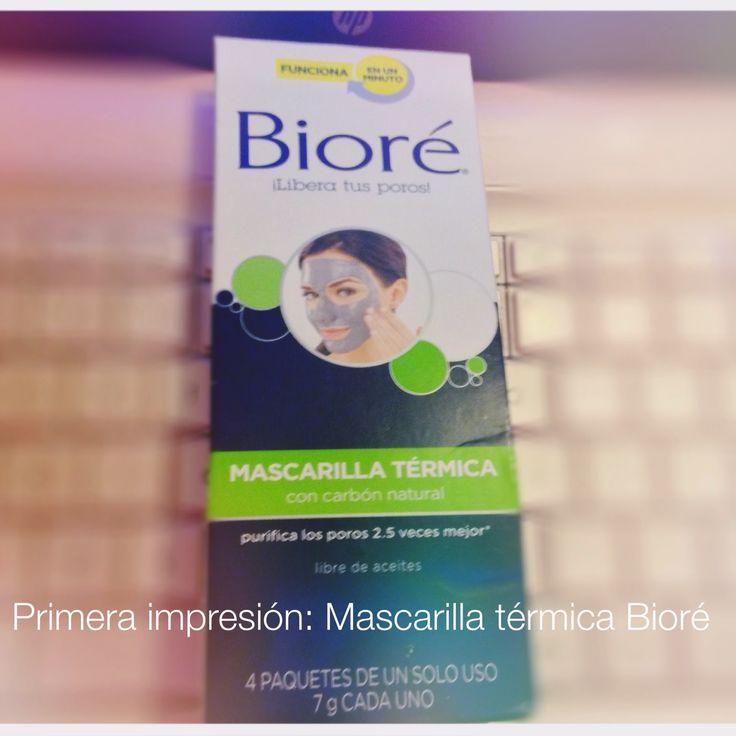 Cata Martínez N: Reseña: Primera impresión Mascarilla térmica de Bi...