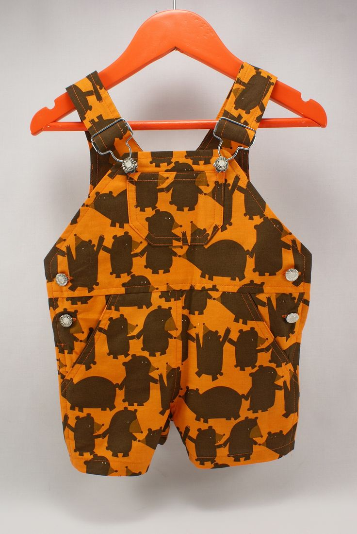 #bear #overalls #littlesophie #forkids #kids #baby #summer #handmade #orange