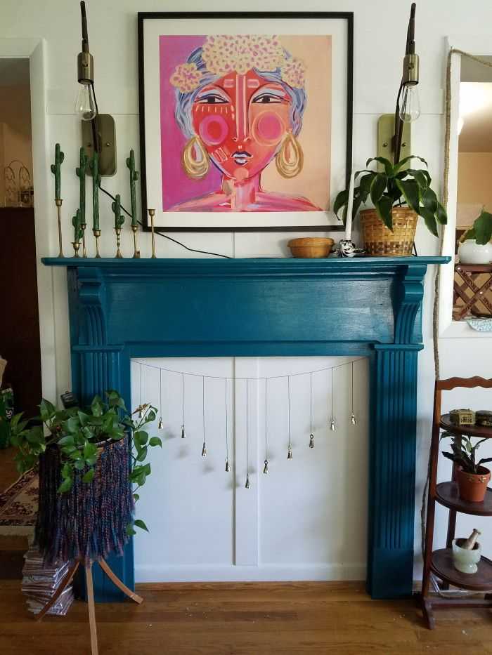 Best 25+ Eclectic fireplace screens ideas on Pinterest | Eclectic ...