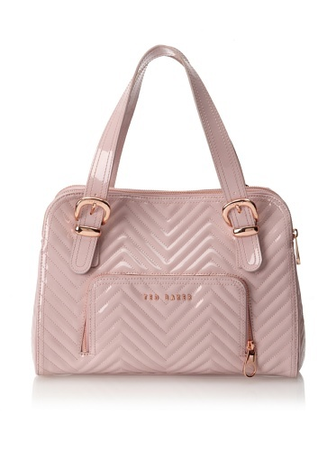 56% OFF Ted Baker Women\'s Stella Quilted Tote Bag (Pink)