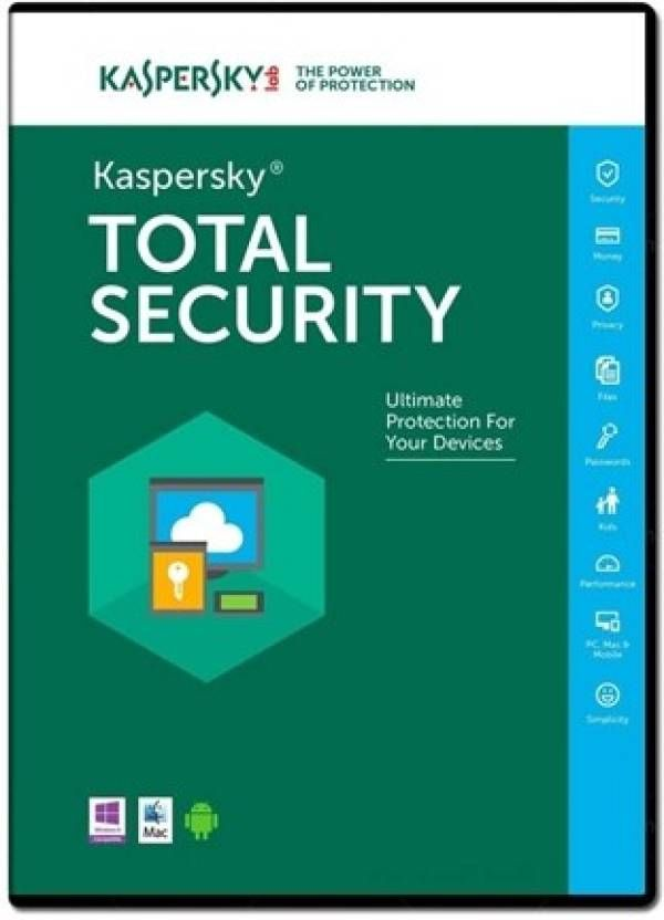 Kaspersky Anti-Virus features include real-time protection